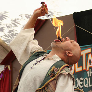 Zoltan - Faire Fire Eater