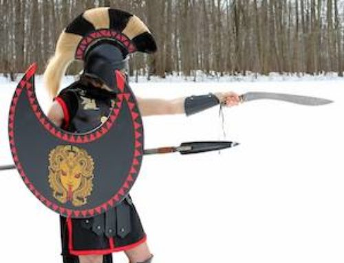 Combat Training by Warriors of Elysium