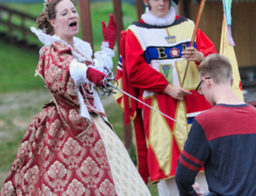 Knighting Ceremony with Queen Elizabeth